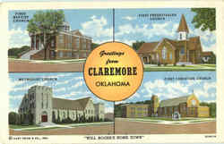 Greetings From Claremore
