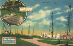 First Commercial Oil Well In State