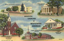 Beautiful Churches Of Waycross