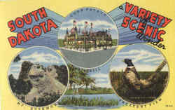 South Dakota Variety Scenic Wonder