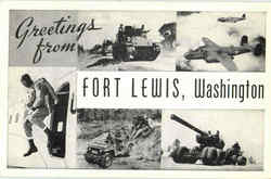 Greetings From Fort Lewis