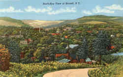 Bird's Eye View Of Hornell