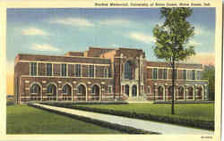 Rockne Memorial , University of Notre Dame Postcard