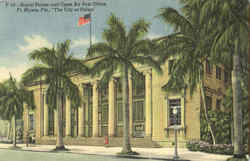 Royal Palms And Open Air Post Office