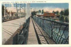 Schuylkili River Bridge And Penna R. R. Depot
