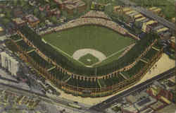 Wrigley Field Chicago Cubs Postcard
