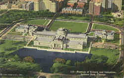 Museum Of Science And Industries , Jackson Park Postcard