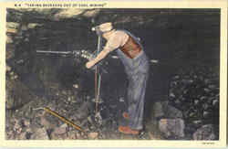 Coal Mining w/Electric Drill