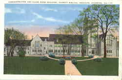 Administration And Class Room Building, Garrett Biblical Institute Postcard