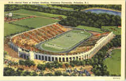 Aerial View Of Palmer Stadium, Princeton University