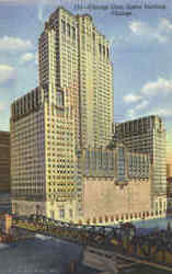 Chicago Civic Opera Building, 20 N. Wacker Drive Postcard
