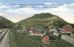 Historic Cumberland Gap And Pinnacle Mountain Postcard