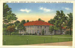 Judd Hall Dormitory For Women, Spartanburg Junior College