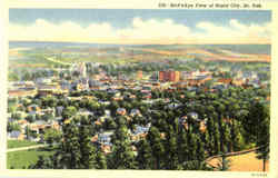Bird's Eye View Of Rapid City