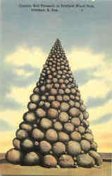 Cannon Ball Pyramid, Petrifield