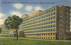 United States Veterans Administration Hospital Postcard