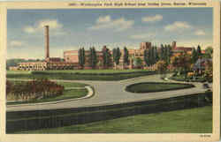 Washington Park High School From Valley Drive