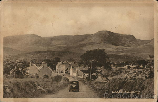 View of Village Sneem Ireland