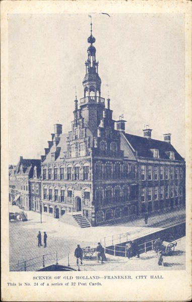 City Hall Franeker Netherlands Benelux Countries