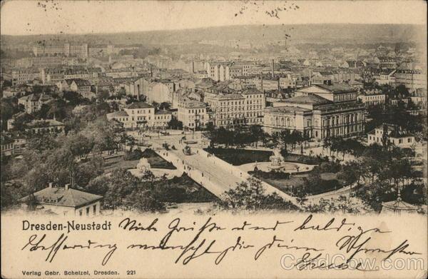 Dresden - Neustadt (New city)