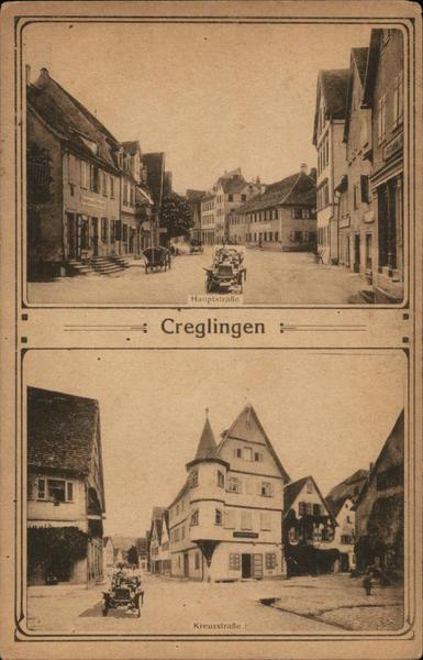Hauptstrasse and Kreuzstrasse