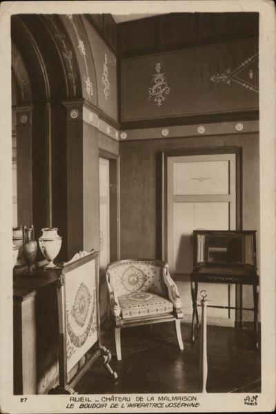 Château de Malmaison, Bedroom of Empress Joséphine de Beauharnais