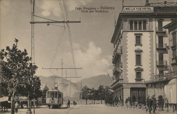 Belle Vue Hotel and Tram Pallanza Italy