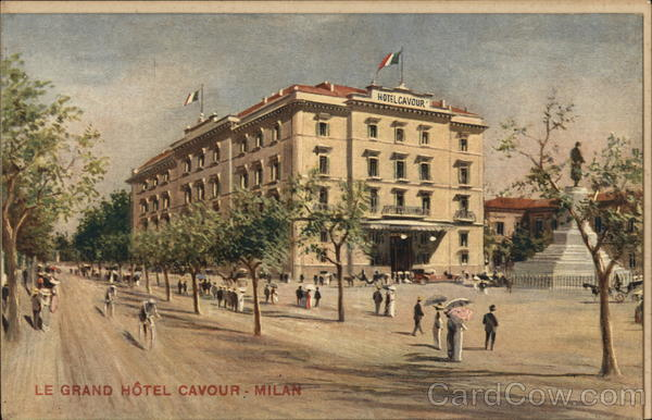 Le Grand Hotel Cavour Milan Italy