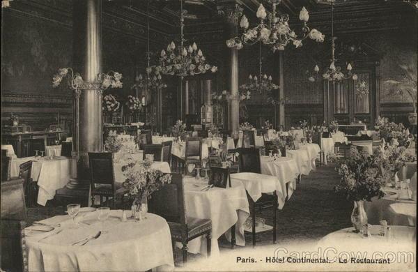 Hotel Continental - Restaurant
