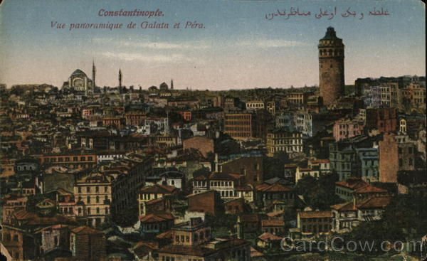 View over Galata and Pera