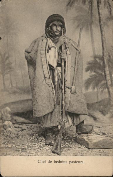 Chief of the Bedouin shephards Turkey Greece, Turkey, Balkan States