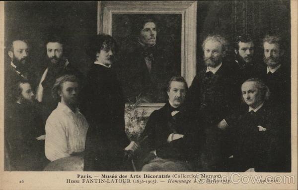 Tribute to Delacroix