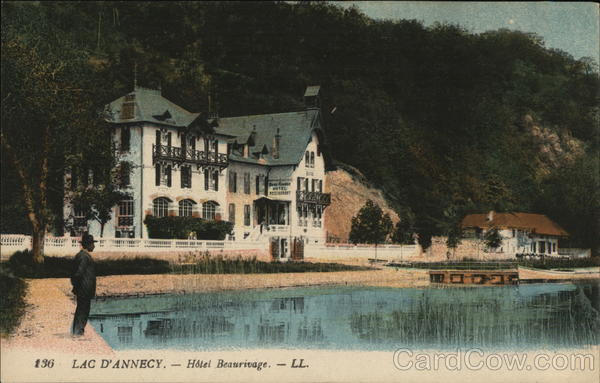 Hotel Beaurivage Lac D'Annecy France