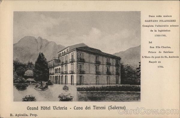 Grand Hotel Victoria, Cava dei Tirreni
