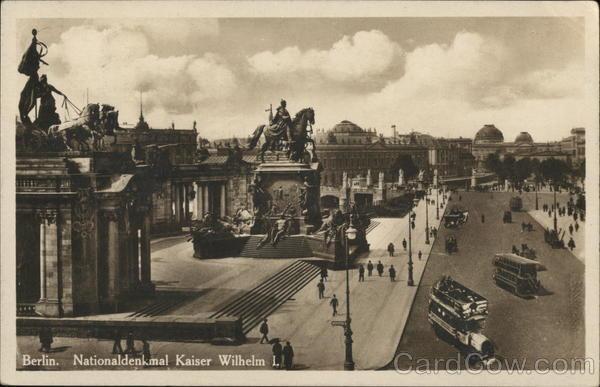 Nationaldenkmal Kaiser Wilhem I (National monument to Kaiser Wilhem I)