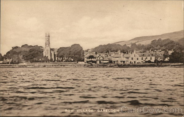 Row Village, Garelochhead Gare Loch Scotland