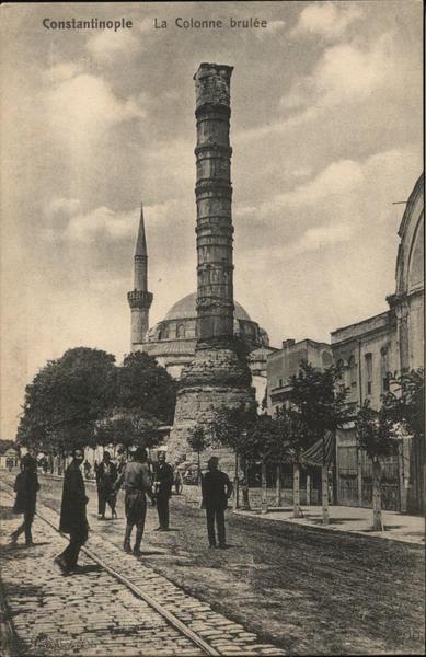 Column of Constantine or Burnt Pillar