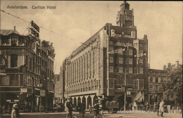 Carlton Hotel Amsterdam Netherlands Benelux Countries