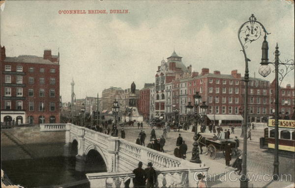 O'Connell Bridge Dublin Ireland