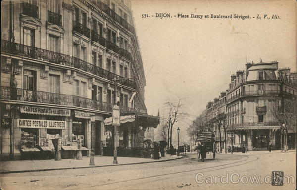 Place Darcy et Boulevard Sevigne