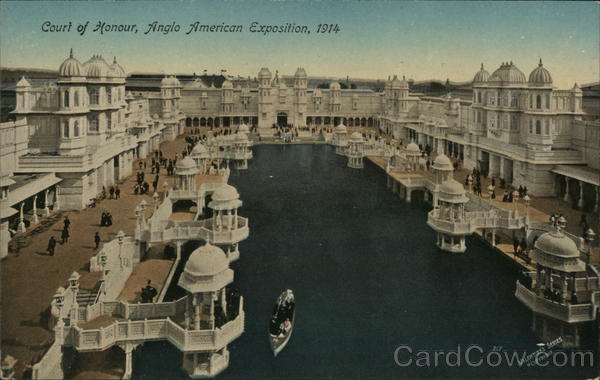 Court of Honor - Anglo-American Exposition, 1914 London