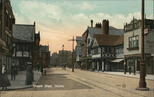 Foregate Street Chester England Cheshire