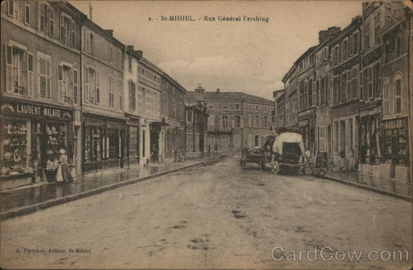 Rue General Pershing Saint-Mihiel France
