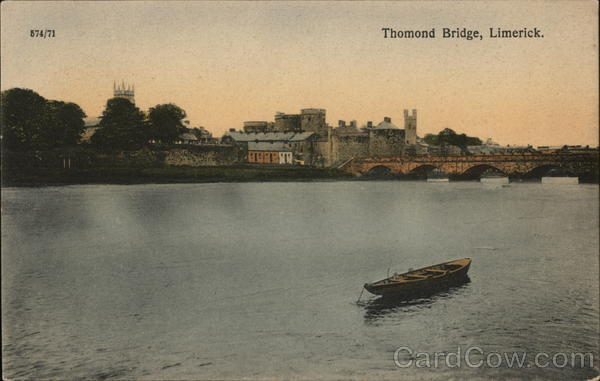 Thomond Bridge Limerick Ireland