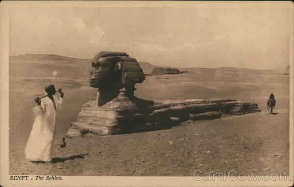 The Sphinx Egypt Africa