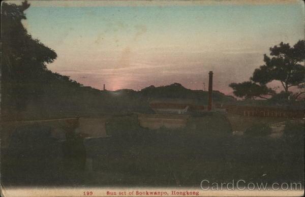 Sun set of Sookwanpo