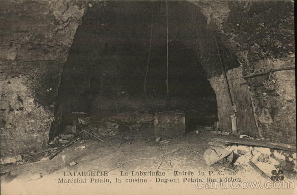 La Targette, Entrance to The Labyrinth Arras France