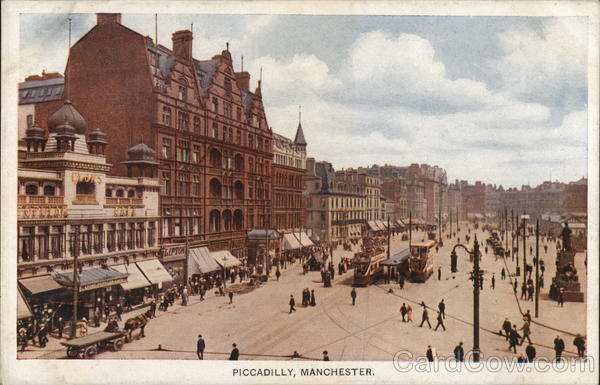 Piccadilly, Manchester United Kingdom Greater Manchester