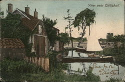 View near Coltishall Postcard