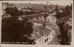View from Church Tower Postcard